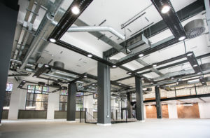 A Cat A office fit out example where we can fit out the basic structure of an office for landlords.
