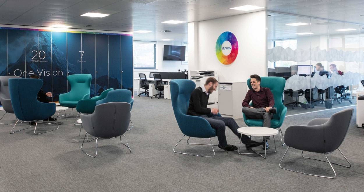 Nuvias – Office Design and Fit Out Case Study