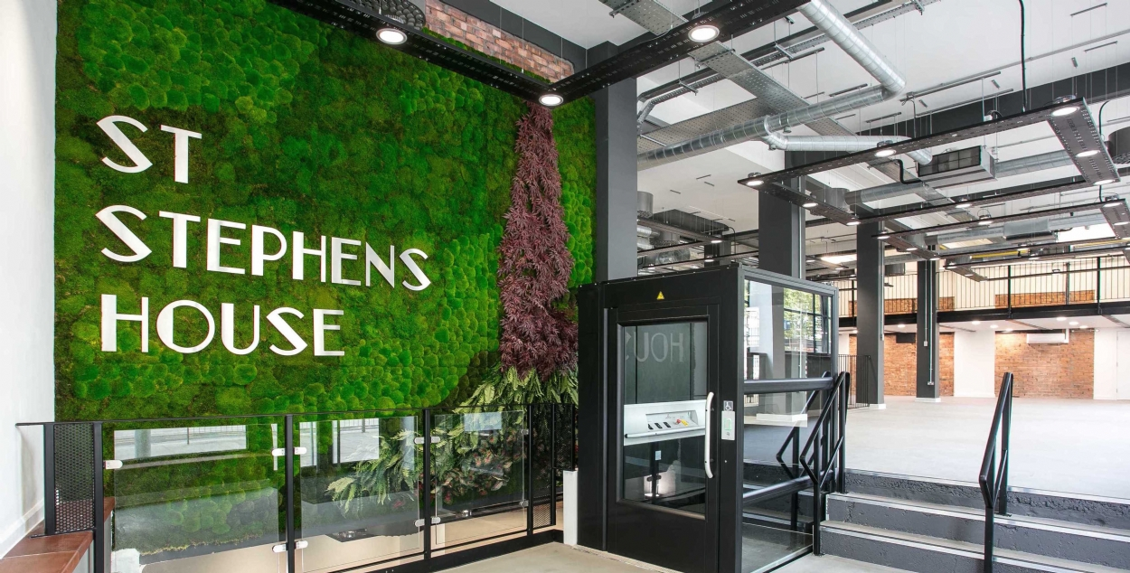 St Stephens House – Commercial Workspace Fit Out