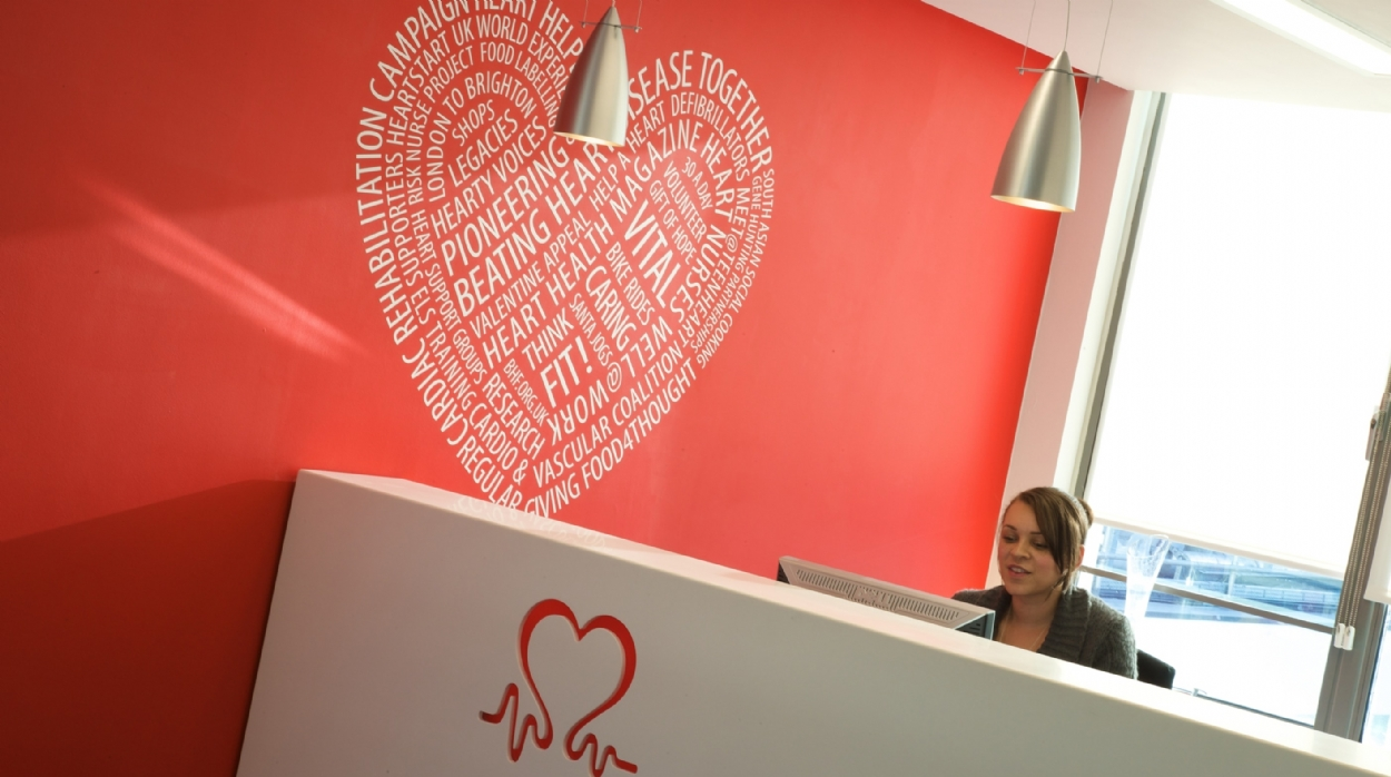 British Heart Foundation Head Office Design Case Study