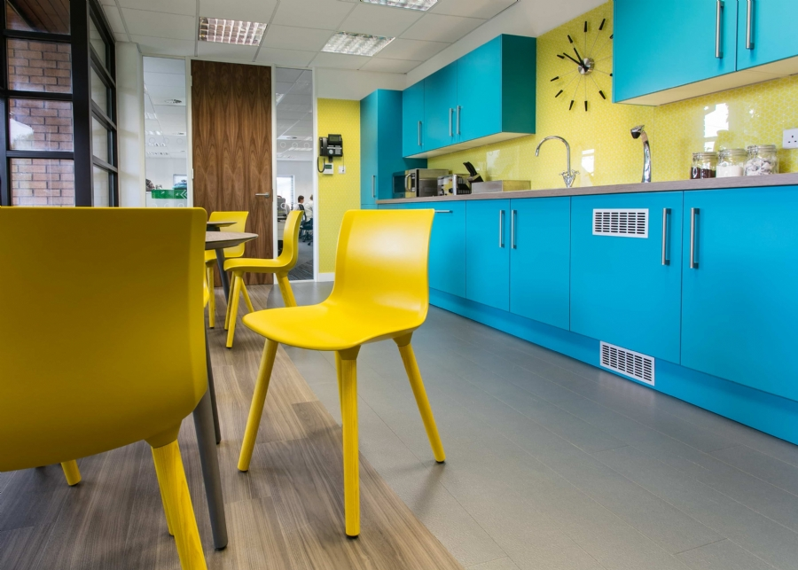 Can workplace colours affect the way we work and think? Image
